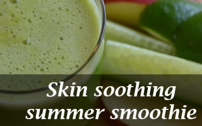 Skin soothing summer smoothie