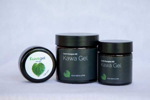 kawakawa gel all white background