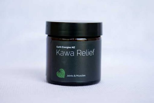 kawa relief product on white tablecloth